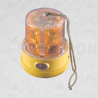 360 Degree Amber Flashing Strobe Light Beacon Magnetic