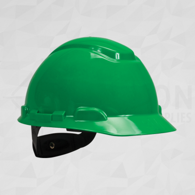 3M Hardhat Green