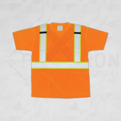 CSA Compliant Traffic Safety T-Shirt Orange