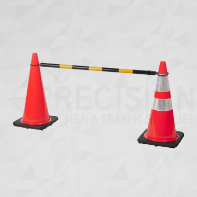 Cone and Delineator Bar Rectractable