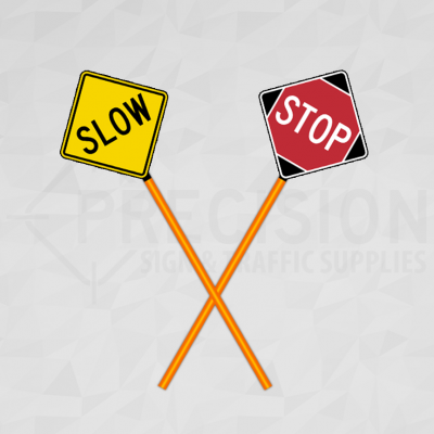 Newfoundland Traffic Control Paddle