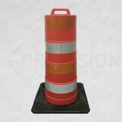 Nova Scotia Traffic Drum with Rubber Base