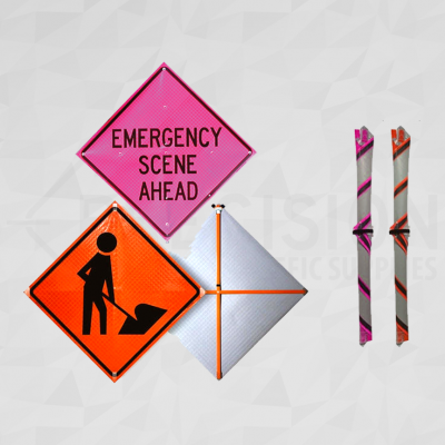 Roll Up Traffic Signs