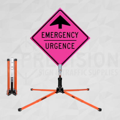 Single Spring Windmaster Roll Up Sign Stand