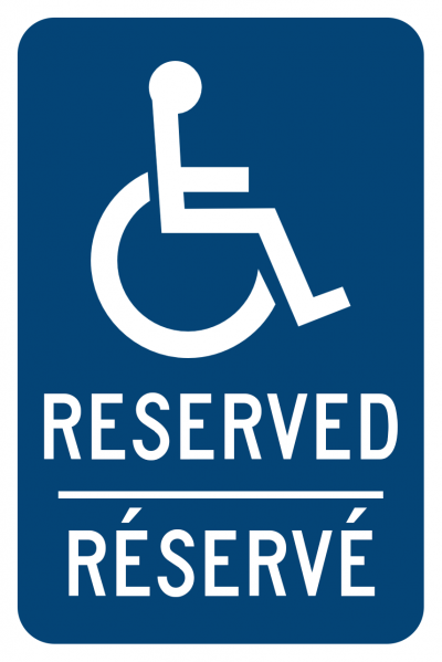 Disabled Parking Reserved