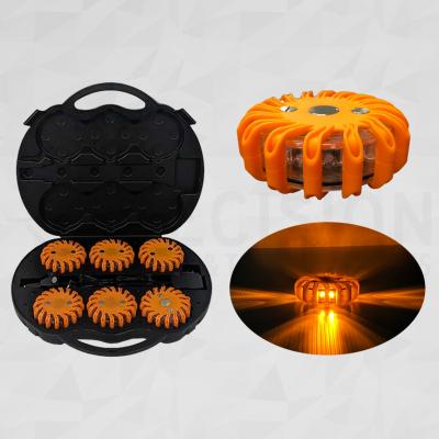 LED Road Flare Kit Orange