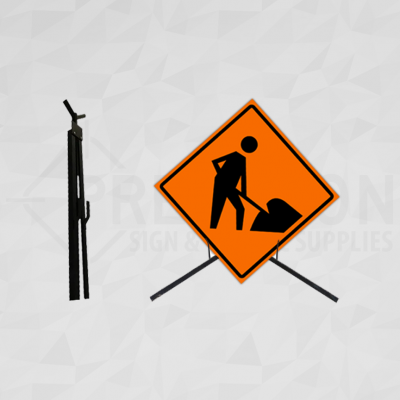 Tripod Sign Stand High Mount